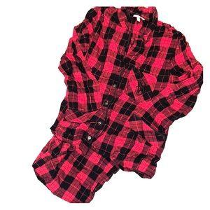 Victoria's Secret Flannel Pajamas M NWOT